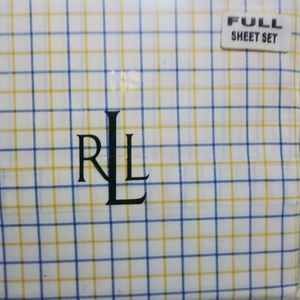 New Ralph Lauren Full size sheet set Boyleston